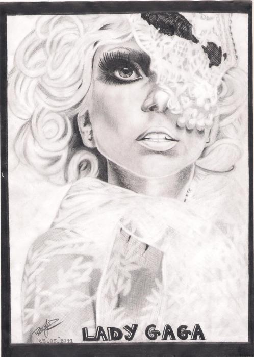 Lady Gaga por Pink-pinther